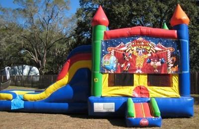 Circus Multi Colored  5 in 1 Castle DRY Combo - UNIT #220