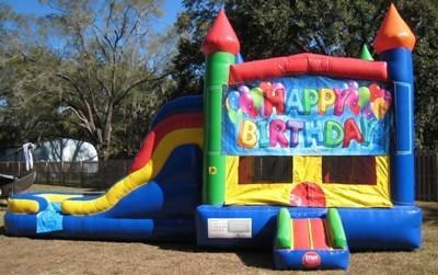 Happy Birthday Multi Colored  5 in 1 Castle DRY Combo - UNIT #220