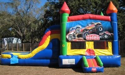 Monster Truck Multi Colored  5 in 1 Castle DRY Combo - UNIT #220