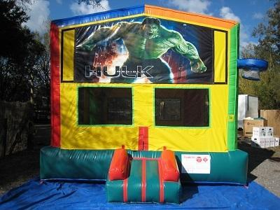 Hulk  2 in 1 Multi-Colored Bounce w/Hoops - UNIT #112
