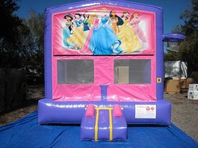 Princess Pink and Purple Bounce w/Hoops UNIT #103