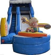 *NEW 16ft Surf's Up Wet Slide - UNIT #521 - DCF APPROVED!