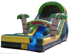 *NEW* 16ft Crazy Tropical Wet Slide - UNIT #518