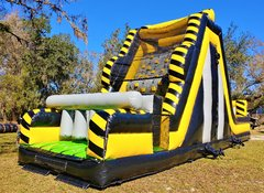 *NEW* 19ft TOXIC Theme Rock Climbing Dry Slide UNIT #437