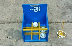 NEW!  3 In A Row Ball Toss / Ring Toss - Combo Game
