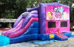 My Little Pony 4 in 1 Pink and Purple Two Lane WET Combo - UNIT #216