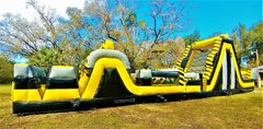 *NEW* 70ft TOXIC Two Lane DRY Obstacle Course - UNITS #436+437