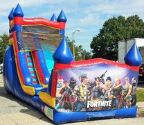 18ft Fortnite WET Slide - UNIT #528