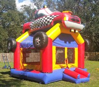 *NEW* Monster Truck Bounce w/Hoops - UNIT #107