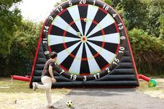 *NEW* GIANT Velcro Soccer Darts UNIT - #327