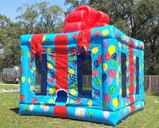 2 in 1 NEW Party Package Gift Wrapped Bouncer - UNIT #109