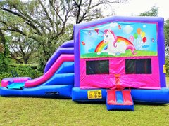 NEW Hot Theme - *Unicorn 4 in 1 Pink and Purple Two Lane WET Combo - UNIT #216