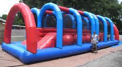 45ft Wipeout Two Lane Obstacle - UNITS #409+410