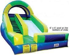 15ft Splash Down Wet Slide - UNIT #519