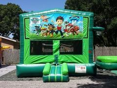 Paw Patrol 2 in 1 GREEN Bounce w/Hoops - UNIT #113