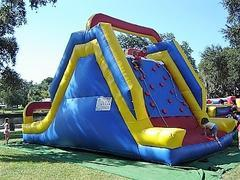 16ft Climbing Dry Slide - UNIT #413
