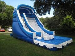 18ft Screamer Water Slide with OVERSIZED POOL - *FAST* - UNITS #529+613
