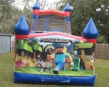 18ft Minecraft Dry Slide - UNIT #528
