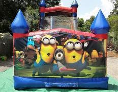 18ft Minions Dry Slide - UNIT #528