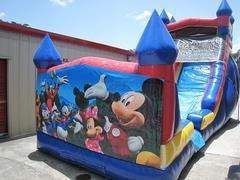 18ft Mickey and Friends Dry Slide - UNIT #528