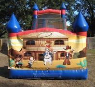 18ft Wild West DRY Slide - UNIT #528