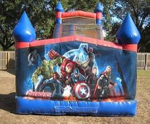 18ft Avengers Dry Slide - UNIT #528