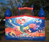 18ft Little Mermaid Dry Slide - UNIT #528