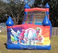 18ft Trolls Dry Slide - UNIT #528