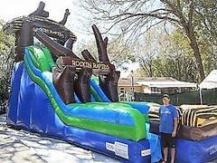 *NEW* 20ft Rockin Rapids Inner Tube Water Slide - UNIT #516 - DCF APPROVED!