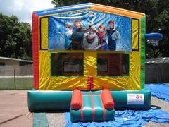 Frozen 2 in 1 Multi-Colored Bounce w/Hoops - UNIT #112