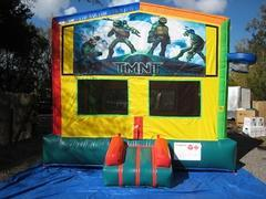 Ninja Turtles 2 in 1 Multi-Colored Bounce w/Hoops - UNIT #112