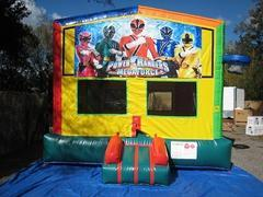 Power Rangers 2 in 1 Multi-Colored Bounce w/Hoops - UNIT #112