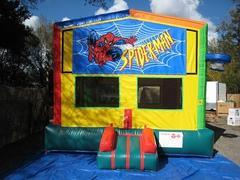 Spiderman 2 in 1 Multi-Colored Bounce w/Hoops - UNIT #112
