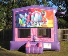 Trolls Pink and Purple Bounce w/Hoops UNIT #103