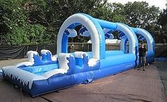 """The Double Dip"" Snowy 30ft Two Lane Slip n Dip w/pool - UNIT #532"