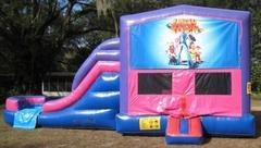 Lazy Town 4 in 1 Pink and Purple Two Lane WET Combo - UNIT #216