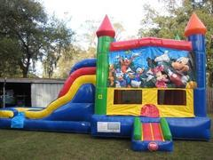 Mickey and Friends Multi Colored  5 in 1 Castle DRY Combo - UNIT #220