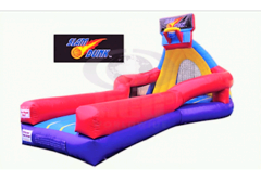 All Star Basketball Slam Dunk Contest with Bubble Trampoline - UNIT #309