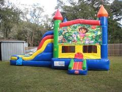 Dora Multi Colored  5 in 1 Castle WET Combo - UNIT #220