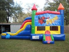 Spiderman Multi Colored  5 in 1 Castle WET Combo - UNIT #220