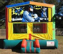 Batman 2 in 1 Multi-Colored Bounce w/Hoops - UNIT #112