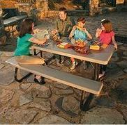 6ft Picnic Tables - Rectangle