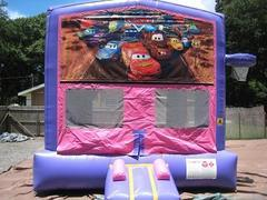 Cars Pink and Purple Bounce w/Hoops UNIT #103
