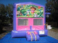 Dora Pink and Purple Bounce w/Hoops UNIT #103