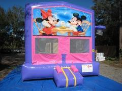 Mickey and Minnie Pink and Purple Bounce w/Hoops UNIT #103