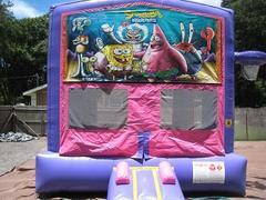 SpongeBob Pink and Purple Bounce w/Hoops UNIT #103