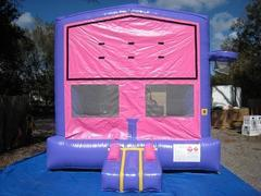 Pink and Purple Bounce w/Hoops UNIT #103