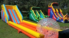 *NEW* 75ft Long Zorb Ball Ramp and Track - UNITS #340+341