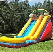 *ON SPECIAL for a LIMITED TIME *NEW* 18ft Rainbow Rush Water Slide - UNIT #540