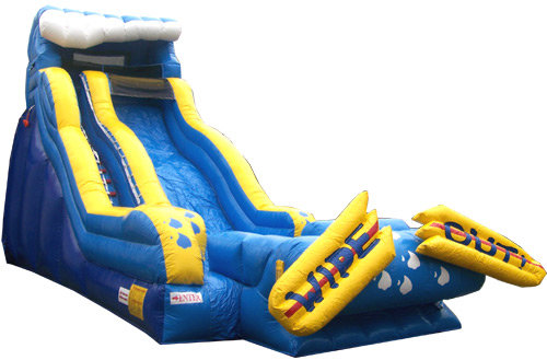 19 Ft Wipeout Water Slide